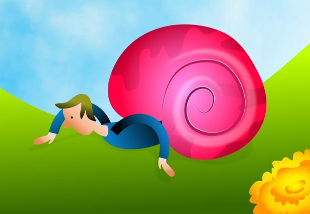 snail-man